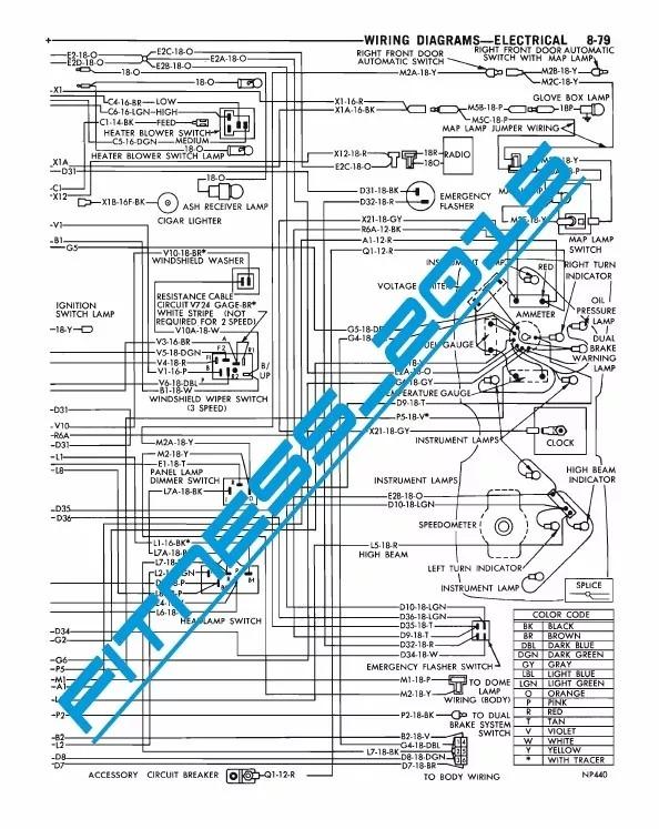 Manual De Taller Y Diagramas Electricos Dodge Dart 1970 1973 - U$S 5 ...