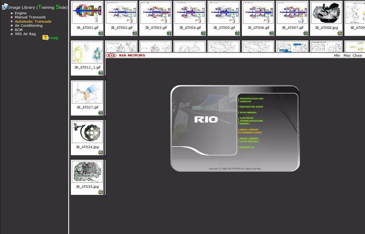 Manual De Taller Y Diagramas El U00e9ctricos Kia Rio 2004-2011   14 50 En Mercado Libre