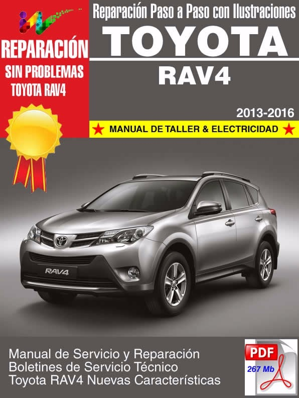 Manual service pdf rav4 toyota