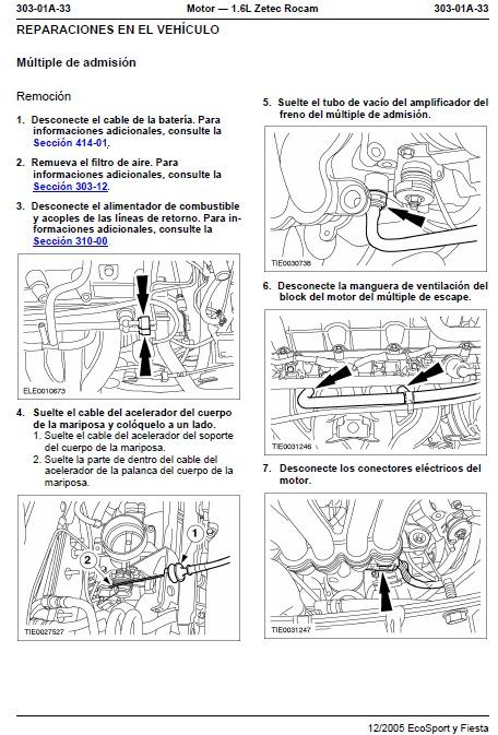 manual de taller y reparacion ford ecosport y fiesta bs 7 77 en rh articulo mercadolibre com ve manual de ford fiesta 2006 manual do ford fiesta 2006