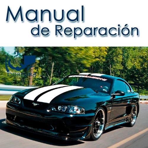 manual de taller y reparación ford mustang 1994-1997
