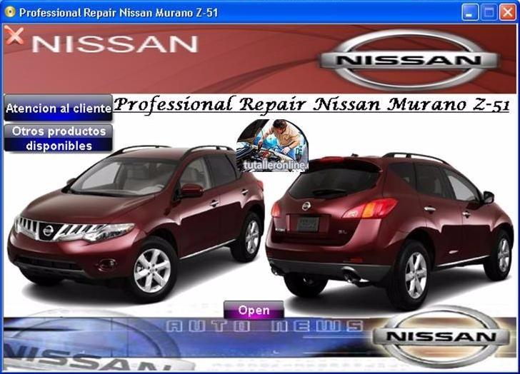manual de taller y reparacion nissan murano z 51 2009 2010 bs 25 rh articulo mercadolibre com ve