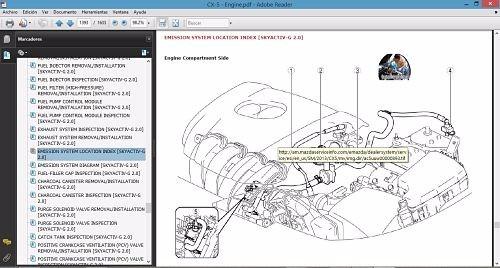 Manual De Taller Y Reparaci U00f3n Para El Mazda Cx