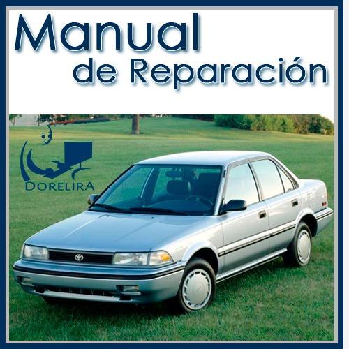 manual de taller y reparación toyota corolla 1984 al 1992