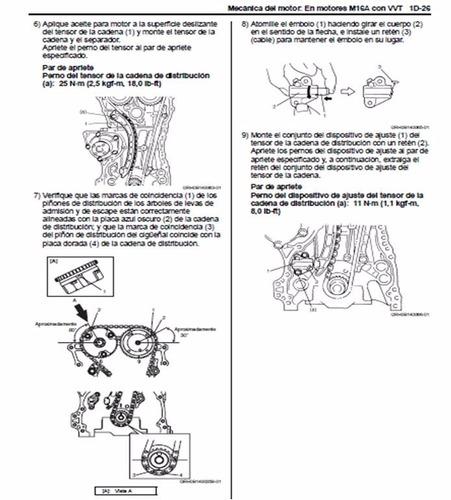 manual de taller y servicio suzuki grand nomade 2007 2009