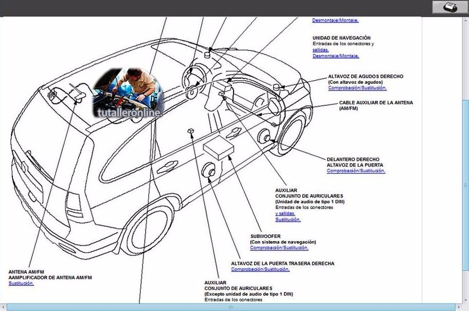 manual de taller reparaci n para el honda cr v 2007 2009 bs 38 94 rh articulo mercadolibre com ve diagrama electrico honda crv 2009 esquema electrico honda crv 2005