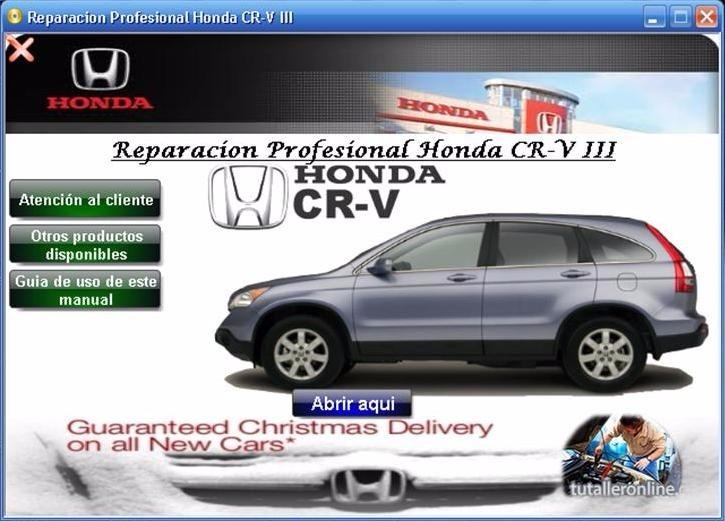2007 honda crv owners manual