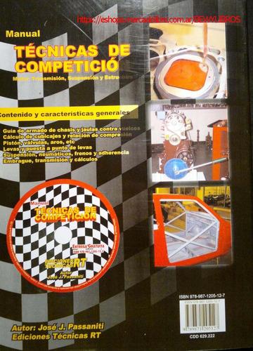 manual de técnicas de competición 1, 2 y 3 rt