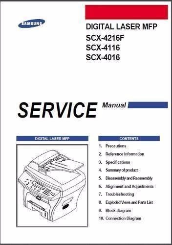 manual de tecnico xerox