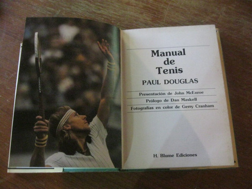 manual de tenis paul douglas ed blume