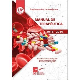 Manual De Terapeutica 2018 - 2019 / González / Cib