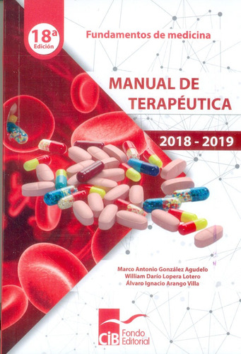 manual de terapéutica 2018 - 2019 18a. ed.