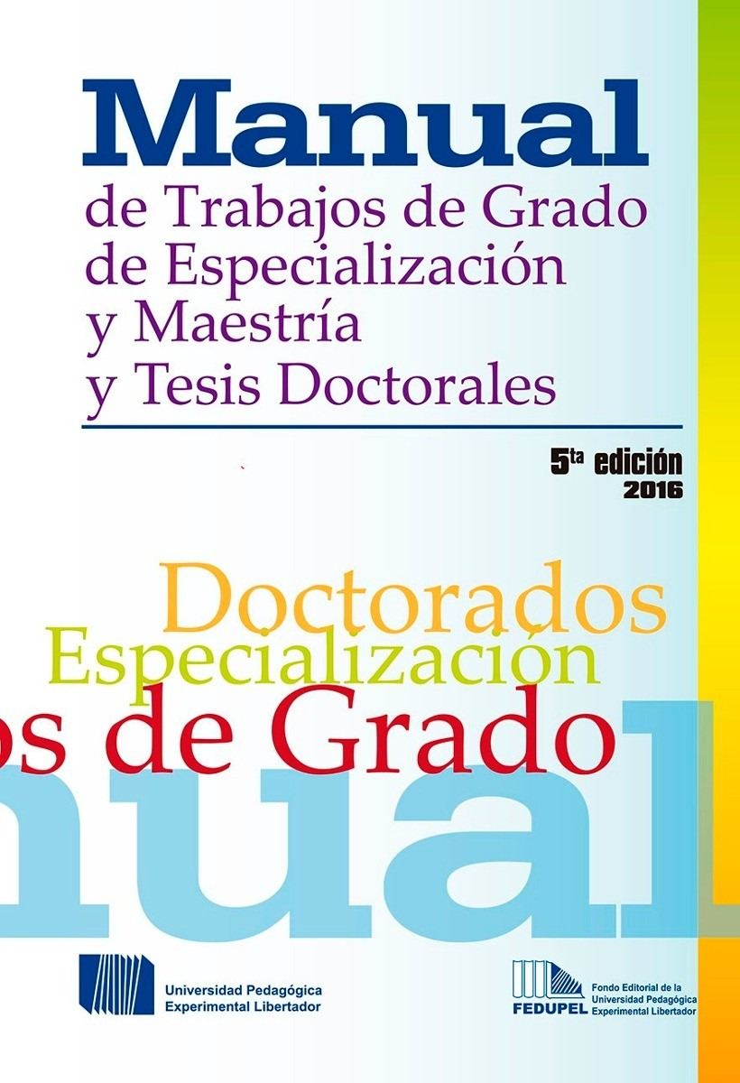 Manual de trabajos de grado upel 2016 pdf bs 957 80 en for Manual de viveros forestales pdf