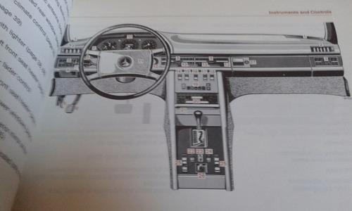 manual de uso 100% original: m benz 380se-500sel-sec