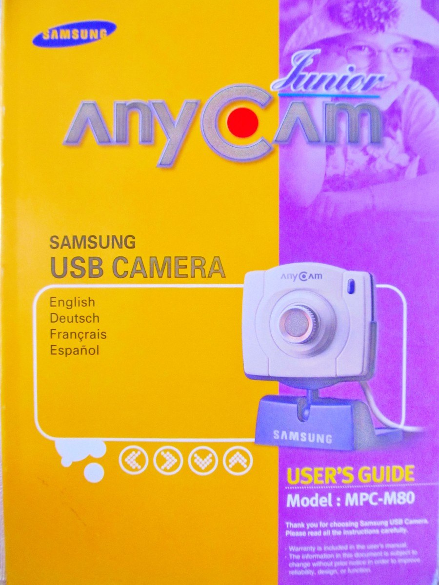 ANYCAM MPC-M80 WINDOWS 7 DRIVER