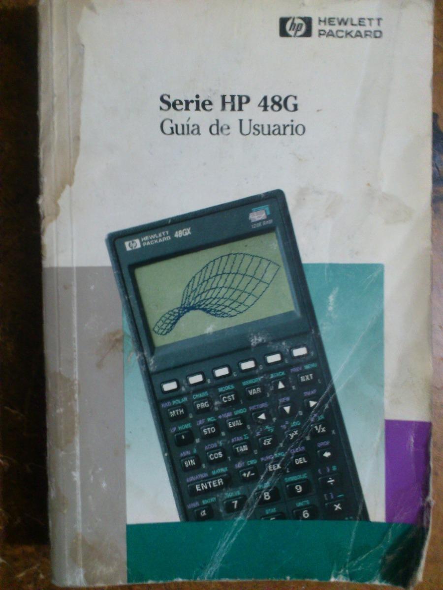 manual de usuario calculadora hp 48g y hp 48gx en espa ol 199 00 rh articulo mercadolibre com mx hp 48gx manual pdf hp 48gx manual español