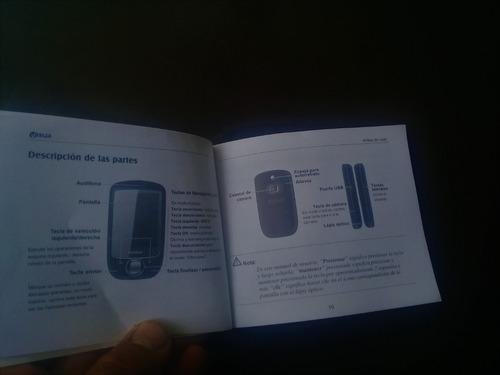 manual de usuario celular v507x compatible zte