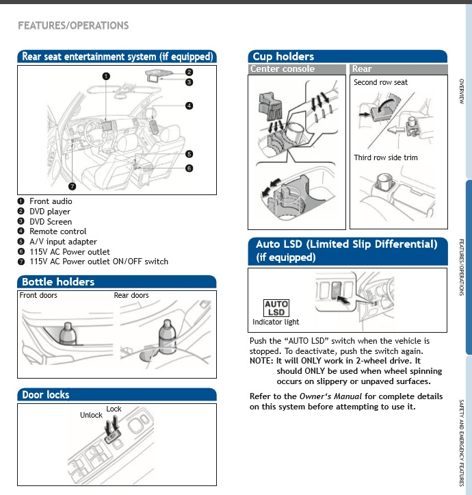 Manual De Usuario De Toyota 4runner 2006 Formato Pdf