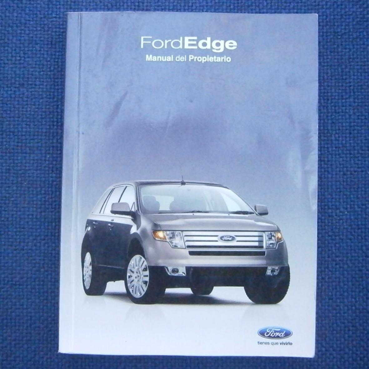 manual de usuario ford edge 2010 original en papel 20 000 en rh articulo mercadolibre cl manual de ford edge 2007 manual de ford edge 2009