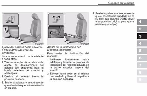 manual de usuario kia k2700 2005-2017 español