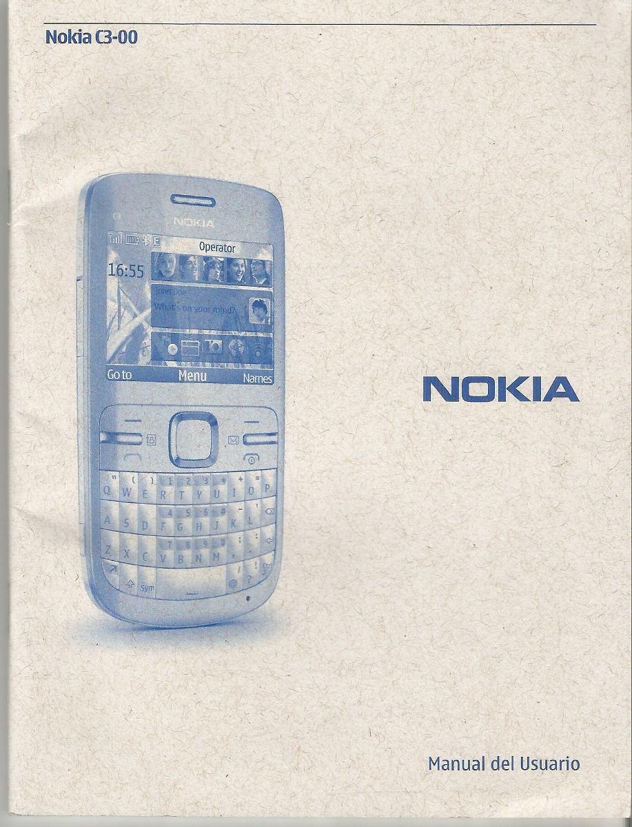 manual de usuario nokia c3 00 en espa ol 3 000 en mercado libre rh articulo mercadolibre cl Celular Nokia N8 Celular Nokia 2017