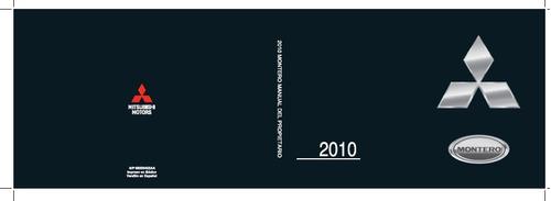 manual de usuario o guantera de mitsubishi montero 2010