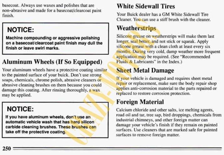buick century 1994 manual