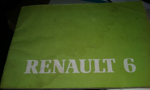 manual de usuario renaul 6