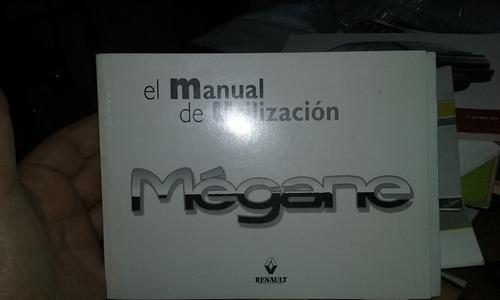 manual de usuario renaul megane 1 y 2 juntos o separados
