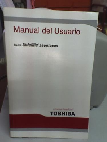 manual de usuario satellite 2800/2805