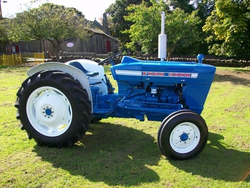 1964 Ford 3000 Tractor : Manual de usuario tractores ford