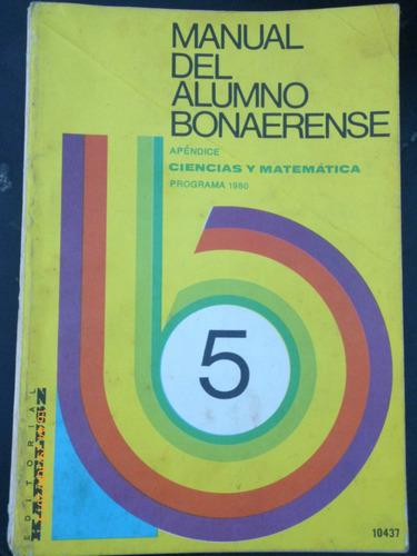 manual del alumno bonaerense 5.