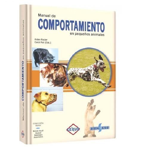 manual del comportamiento en pequeños animales veterinaria