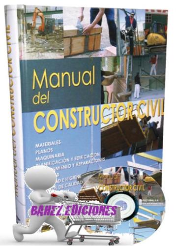 manual del constructor civil 1 vol + cd, cultural
