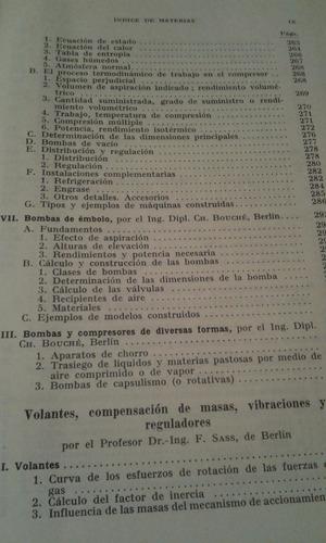 manual del constructor de maquinas  de h.dubbel, tomo ii