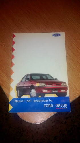 manual del dueño ford orion