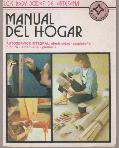 manual del hogar. baby books de artesana
