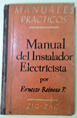 manual del instalador electricista ernesto reinoso