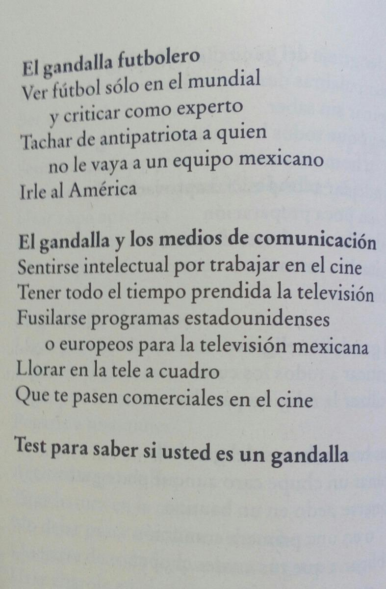 El manual del perfecto gandalla by poncho vera (2009, paperback.