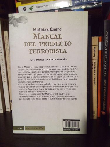 manual del perfecto terrorista mathias énard