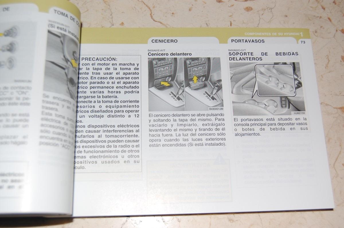 manual del propietario hyundai tucson 2007 en. Black Bedroom Furniture Sets. Home Design Ideas