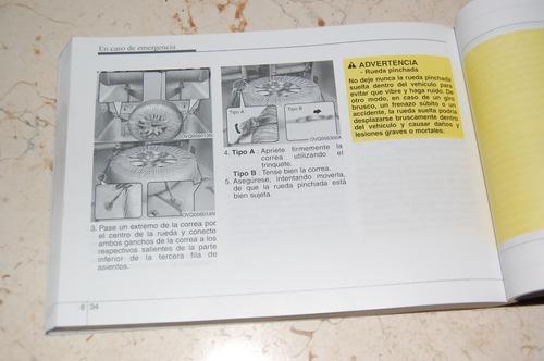 manual del propietario kia carnival 2009