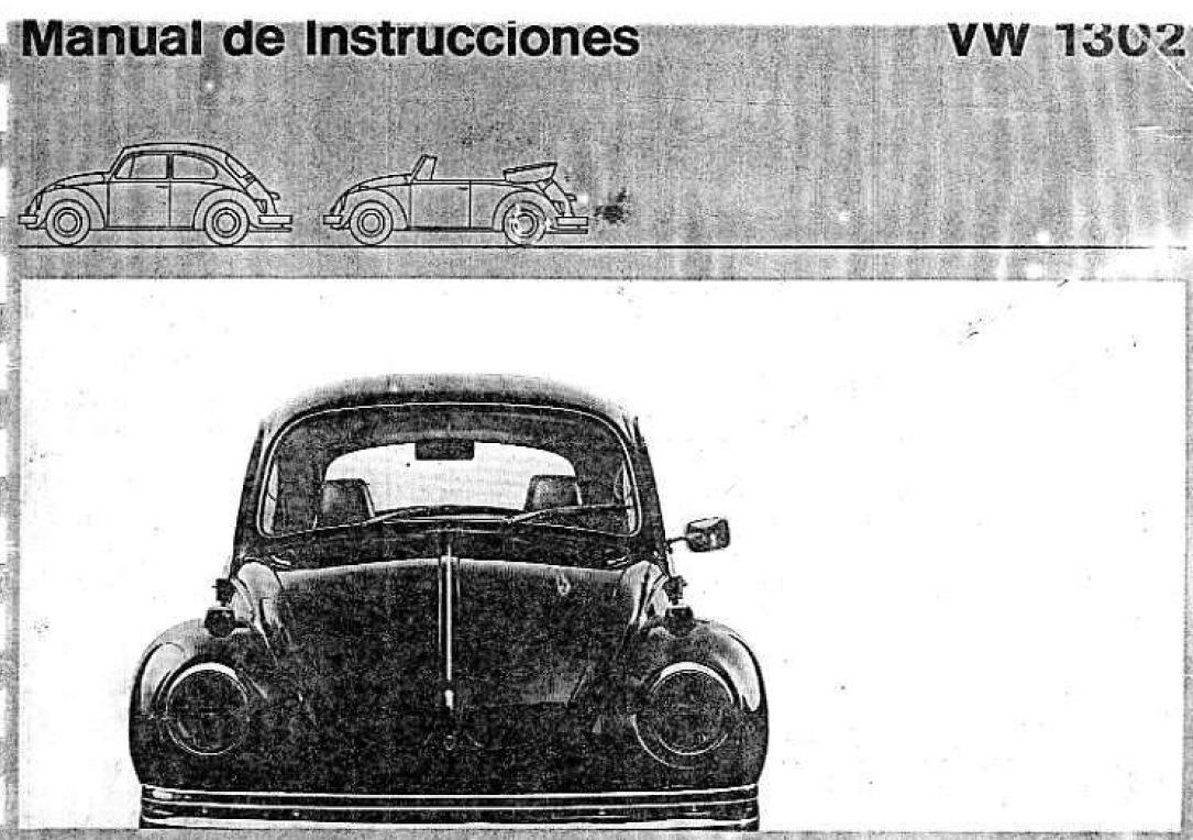 manual del propietario usuario volkswagen escarabajo 55 00 en rh articulo mercadolibre com ar Volkswagen Golf Volkswagen Polo