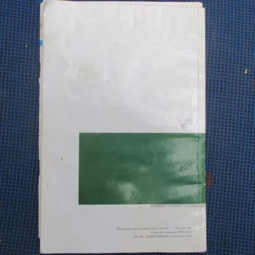manual del propietario volkswagen gol, gol sedan, gol saveir