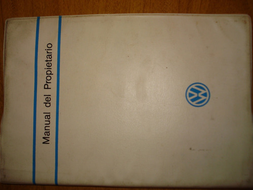 manual del propietario volkswagen original gacel y senda