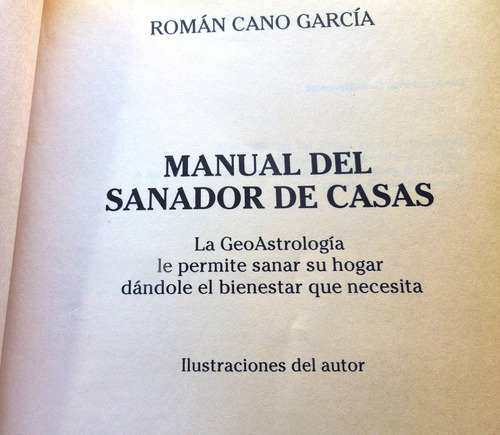 manual del sanador de casas - román cano
