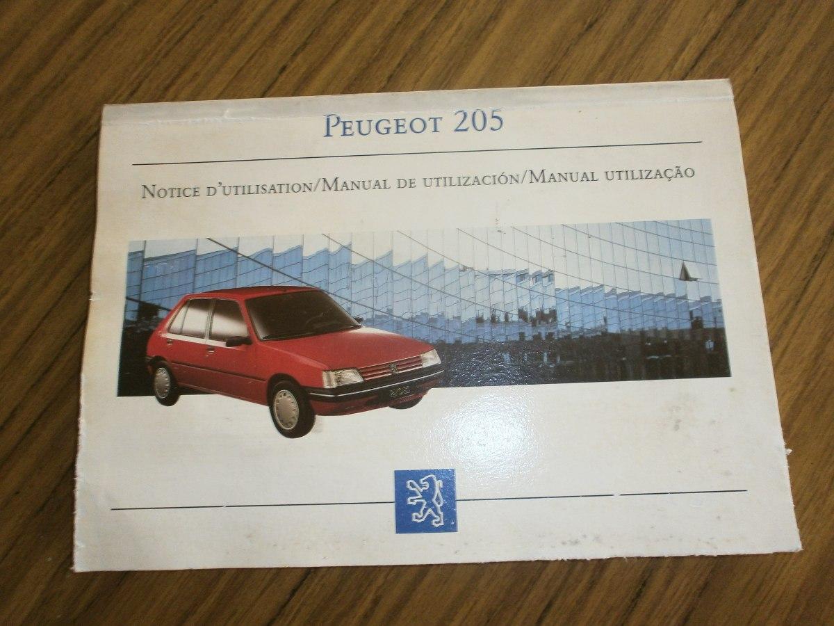 manual del usuario peugeot 205 original 3 idiomas. Cargando zoom.