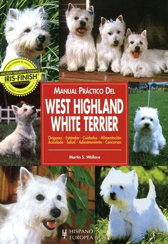 manual del west highland white terrier, hispano europea