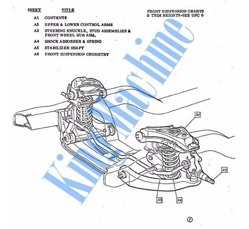 manual despiece catalogo partes-chevrolet camaro ss rs 1969