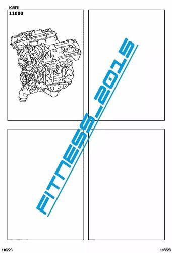 manual despiece catalogo toyota 4runner 2009 - 2017 español